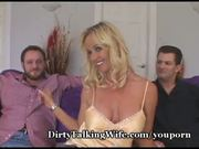 Hot Wife In 3some For Hubby