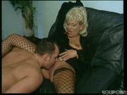 This cougar loves dick in her snatch