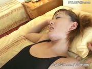 leotard scretary in black pantyhose sex