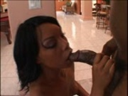 Beauty deep throats him while he eats away at her ass pt 2/3