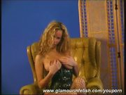 Glamour Zuzanna in leather corset