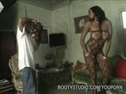 Photographer Nails Hot Ebony Model