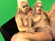 Britney Amber Gold Lesbians