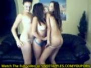 3 Amateur Girlfriends Dance Naked