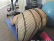big butt gym milf sexy ass workout