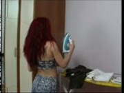Redhead likes to watch herself pt 1/2