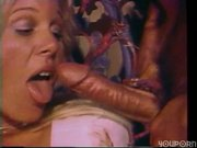 She dreams of blowing one guy while black guy is fucking her in the ass