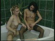 Girls playing in the shower pt 3
