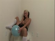 Trisha gets hot with a balloon