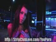 Brunette Stripper Blowjob