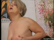Granny seduces her young friend 5/6