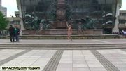 Celine - Amazing Hot Blonde Naked In Public