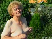 Grandma's hot as a firecracker