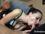 Jessica went without her husband to get fucked by 2 men