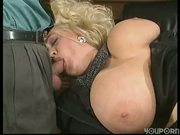 German BBW double fucked