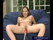 Exotic girl's orgasmatron machine fuck