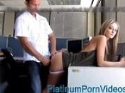 PlatinumPornVideos.com - Amateur office sex