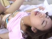 cute japanese gal gets plowed