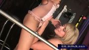 Marlie Moore and Lela Star lesbian sex machine