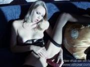 Mai Marie Lingerie Masturbation