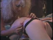 Fun balls on a string in the ass (CLIP)