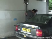 Car Wash Threesome