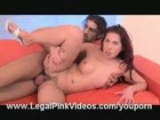 18 Yr Old Jenny Virgin Fucked and Creampied!