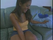 Sweet little Latina pays with a blowjob Pt. 1/3