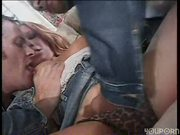 Two hotties have an afternoon fuck party
