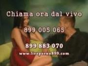 Sesso al cellulare. 899 883 070