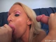 Blonde chick tells her friend her wet dream