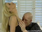 Classy sex goddess loves dick tugging