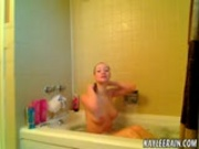 Kaylee Rain Naked in the Shower