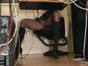 Hidden secretary cam 