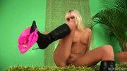 Lovely blonde Brianna masturbates - Trion Media