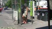 Hot Blonde Shows Their Naked Body In Public