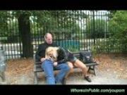 public fuck in the park