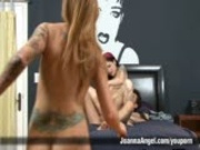 Tattoo Punk Girl 3 Way Sex