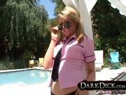 Blonde Sindee Jennings Black Cock Interracaial