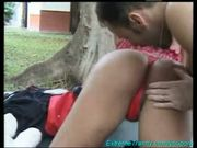sexy shemale fucking outdoor