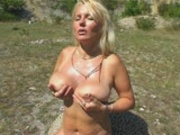 Tickling Her Nipples
