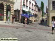 Hanka It´s public nudity time
