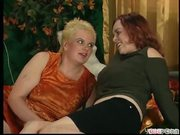 Older hot lesbians trying to act young pt 1/2