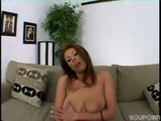 Emily with big tits fingers herself (clip)