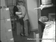 Slut Gets Fucked By Co-worker In Warehouse