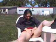 sans culotte dans le jardin
