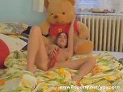 petite girls pussy play