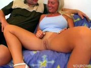 Busty blonde is a good fuck - Sascha Production