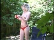Nude Sunbathing in the Great Outdoors (clip)