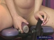 Deep penetrating monkey rocker orgasm